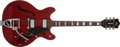 Musical Instruments:Electric Guitars, 1966 Guild Starfire V Cherry Electric Guitar, #EN835....
