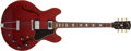 Musical Instruments:Electric Guitars, 1970 Gibson ES-335 TDC Cherry Electric Guitar, #630810....