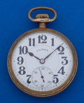Timepieces:Pocket (post 1900), Illinois 21 Jewel Abe Lincoln Pocket Watch. ...