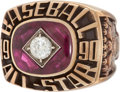 Baseball Collectibles:Others, 1990 Major League Baseball All-Star Game Ring....