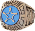 Baseball Collectibles:Others, 1995 Major League Baseball All-Star Game Ring....