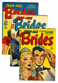 Golden Age (1938-1955):Miscellaneous, Harvey Golden and Silver Age Romance Comics File Copies Group (Harvey, 1949-58) Condition: Average VF.... (Total: 32 Comic Books)