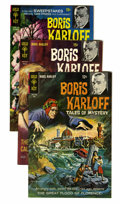 Bronze Age (1970-1979):Horror, Boris Karloff Tales of Mystery File Copies Group (Gold Key,1968-79) Condition: Average VF+.... (Total: 44 Comic Books)