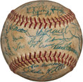 Autographs:Baseballs, Late 1950's Baltimore Orioles & Chicago White Sox SignedBaseball....