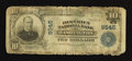 National Bank Notes:District of Columbia, Washington, DC - $10 1902 Plain Back Fr. 625 The District NB Ch. # 9545. ...