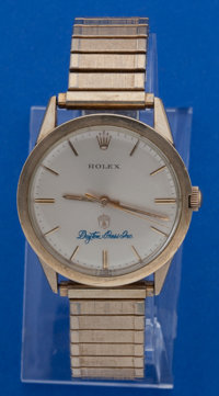Rolex Gold Filled Presentation Wristwatch