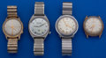 Timepieces:Wristwatch, Four - Accutron's Parts Wristwatches. ... (Total: 4 Items)