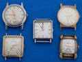 Timepieces:Wristwatch, A Lot Of Five Vintage Wristwatches. ... (Total: 5 Items)