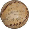 Autographs:Baseballs, Early 1930's Stars of the National League Multi-Signed Baseballwith Ott, Klein....