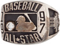Baseball Collectibles:Others, 1997 Major League Baseball All-Star Game Ring....