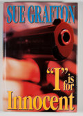 """Books:Signed Editions, Sue Grafton. INSCRIBED. """"I"""" is for Innocent. New York: Henry Holt, [1992]. First edition, first printing. Insc..."""