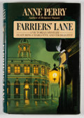 Books:Signed Editions, Anne Perry. SIGNED. Farriers' Lane. New York: Fawcett Columbine, [1993]. First edition, first printing. Signed. ...