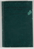 Books:First Editions, Z. T. Fulmore. The History and Geography of Texas. [Austin]:[E. L. Steck], [1915]. First edition. Octavo. 312 pages...