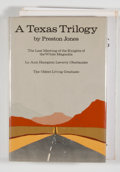 Books:Signed Editions, Preston Jones. INSCRIBED. A Texas Trilogy. New York: Hill and Wang, [1976]. First edition. Inscribed. Octavo. 33...