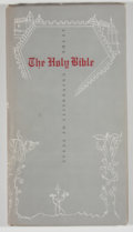 Books:Signed Editions, David R. Farmer. SIGNED LIMITED. The Holy Bible at the University of Texas. [Austin]: [Humanities Research Cente...