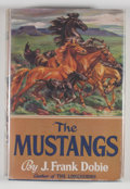 Books:First Editions, J. Frank Dobie. The Mustangs. Boston: Little, Brown, [1952].First edition. Octavo. 376 pages. Publisher's binding a...