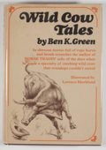 Books:First Editions, Ben K. Green. Wild Cow Tales. New York: Knopf, 1969. Firstedition, first printing. Octavo. 306 pages. Publisher's b...