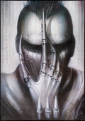 """Movie Posters:Horror, Future-Kill (International Film Marketing, 1985). Numbered and Signed H. R. Giger Lithograph Poster (26"""" X 37""""). Horror.. ..."""