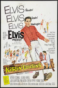 "Movie Posters:Elvis Presley, Kissin' Cousins (MGM, 1964). One Sheet (27"" X 41""). Elvis Presley.. ..."