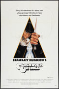 "Movie Posters:Science Fiction, A Clockwork Orange (Warner Brothers, 1971). One Sheet (27"" X 41"").X-Rated Style. Science Fiction.. ..."