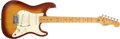 Musical Instruments:Electric Guitars, 1983 Fender Stratocaster American Standard Sienna Sunburst ElectricGuitar #E 320581....