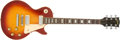 Musical Instruments:Electric Guitars, 1972 Gibson Les Paul Deluxe Cherry Sunburst Electric Guitar#686937....