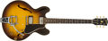 Musical Instruments:Electric Guitars, 1959 Gibson ES-335 Sunburst Electric Guitar, #29397....