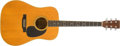 Musical Instruments:Acoustic Guitars, 1972 Martin D-35 Natural Acoustic Guitar, #306701....