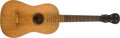 Musical Instruments:Acoustic Guitars, 1924 Hauser Nineteenth Century Natural Acoustic Guitar, #NA. ...