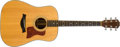 Musical Instruments:Acoustic Guitars, Modern Taylor 710 Natural Acoustic Guitar, #8999. ...