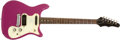 Musical Instruments:Electric Guitars, 1964 Epiphone Olympic Purple Solid Body Electric Guitar,#199820....