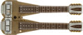 Musical Instruments:Lap Steel Guitars, 1950s Rickenbacker DC 16 Gold Lap Steel Guitar, #NA. ...
