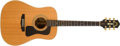 Musical Instruments:Acoustic Guitars, 1990s Guild DV-52 Natural Acoustic Guitar, #AD520295. ...