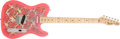 Musical Instruments:Electric Guitars, 1990s Fender Telecaster Pink Paisley Electric Guitar #SO94080....