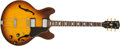 Musical Instruments:Electric Guitars, 1968 Gibson ES-335 Sunburst Electric Guitar, #500337....