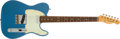 Musical Instruments:Electric Guitars, 2000 Fender Relic Custom Telecaster Lake Placid Blue ElectricGuitar #R7558....