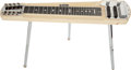Musical Instruments:Lap Steel Guitars, Circa 1954 Fender Stringmaster Deluxe 8 Blond Steel Guitar #0144...