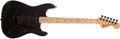 Musical Instruments:Electric Guitars, 1974 Fender Stratocaster Signed by B.B. King Black Electric Guitar# 581928...