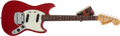 Musical Instruments:Electric Guitars, 1965 Fender Mustang Candy Apple Red Electric Guitar # 103193...