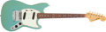 Musical Instruments:Electric Guitars, 1965 Fender Mustang Sonic Blue Electric Guitar # L55296...