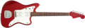 Musical Instruments:Electric Guitars, 1965 Fender Jazzmaster Candy Apple Red Electric Guitar # L63123...