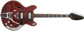 Musical Instruments:Electric Guitars, 1967 Vox Ultrasonic Cherry Thin Hollow Body Electric Guitar # 404708 ...