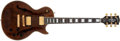 Musical Instruments:Electric Guitars, 1995 Gibson Les Paul Florentine Plus Root Beer Electric Guitar # 59784...