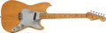 Musical Instruments:Electric Guitars, 1956 Fender Musicmaster Natural Electric Guitar, #12556....