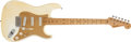 Musical Instruments:Electric Guitars, 1957/58 Fender Stratocaster Olympic White Electric Guitar, #31492....