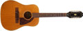 Musical Instruments:Acoustic Guitars, 1966 Epiphone FT-112 Bard Natural 12-String Acoustic Guitar, #402964....