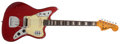 Musical Instruments:Electric Guitars, 1965 Fender Jaguar Candy Apple Red Electric Guitar, #L90664...