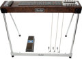 Musical Instruments:Lap Steel Guitars, 1970's Sho-Bud Brown 10 String Electric Pedal Steel Guitar,#N/A....