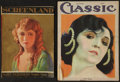 """Movie Posters:Miscellaneous, Screenland Magazine Lot (1926). Magazines (2) (8"""" X 11"""") and (9.5""""X 12"""") (Multiple Pages). Miscellaneous.. ... (Total: 2 Items)"""