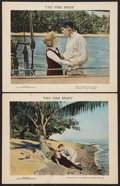 """Movie Posters:Adventure, The Fire Bride Lot (The Gunning Organization, 1922). Lobby Cards(2) (11"""" X 14""""). Adventure.. ... (Total: 2 Items)"""